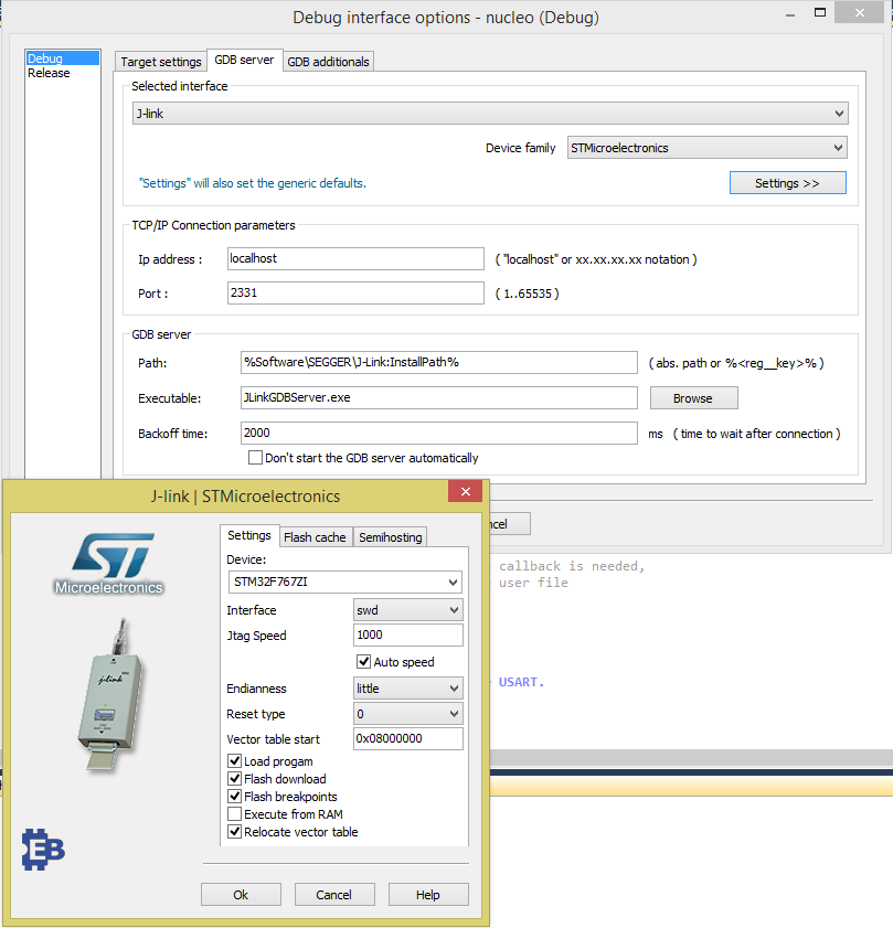 Setting up EmBitz for an STM32F7 HAL project